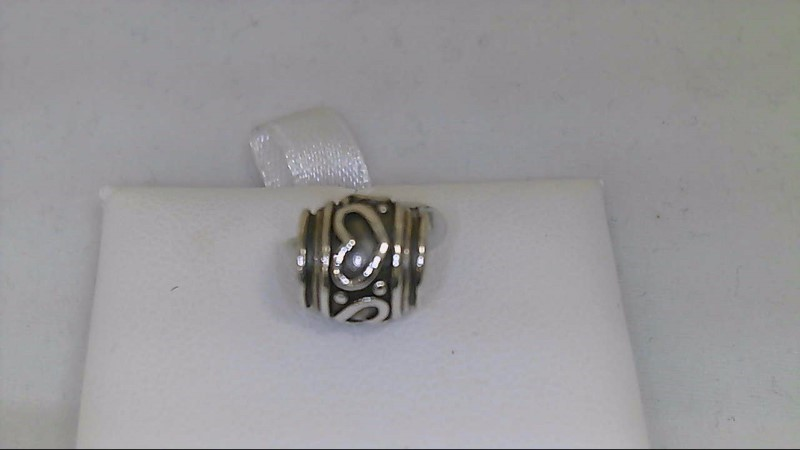 New Reflections Heart Barrel Bead 925 Silver