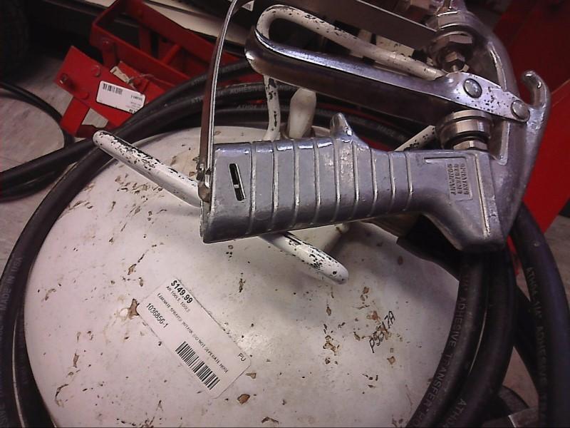LAMINATE SPRAYER W/TANK -SILVER GUN WHITE TANK BLK HOSE