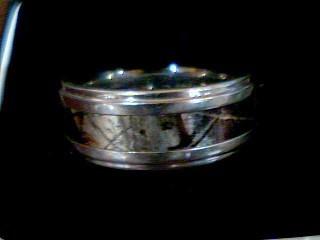 Gent's Ring Silver Tungsten 5.8g