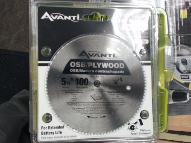 AVANTI Drill Bits/Blades A05100X
