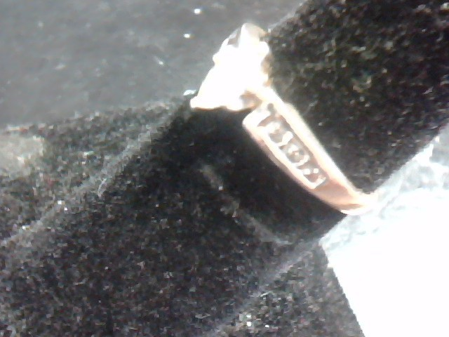 Lady's Diamond Fashion Ring 7 Diamonds .85 Carat T.W. 14K Yellow Gold 1.7dwt