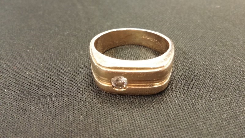 Gent's Gold Ring 14K Yellow Gold 8.2dwt