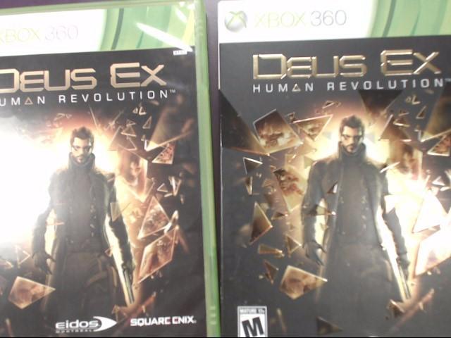 Deus Ex: Human Revolution (Microsoft Xbox 360, 2011) Tested!