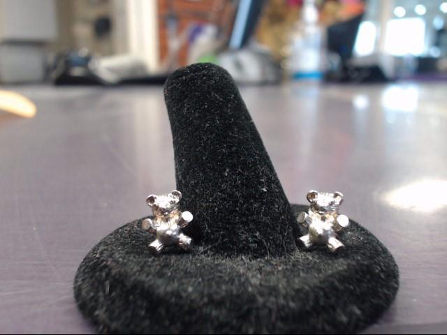 Silver Earrings 925 Silver 1.46g