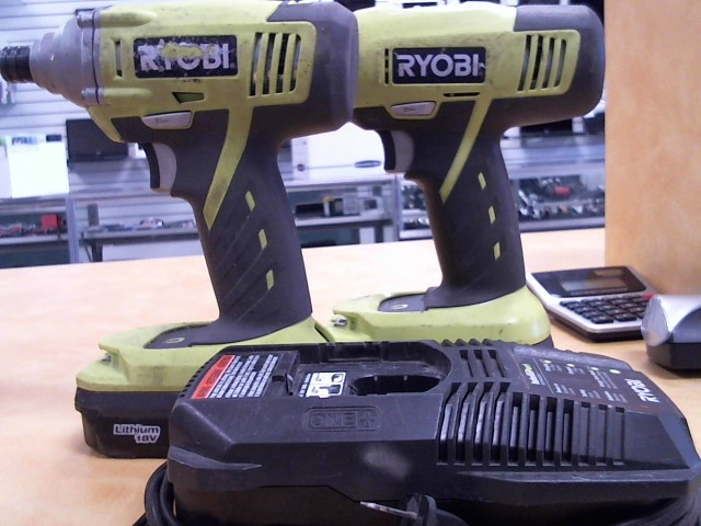 RYOBI Combination Tool Set P271/P234G