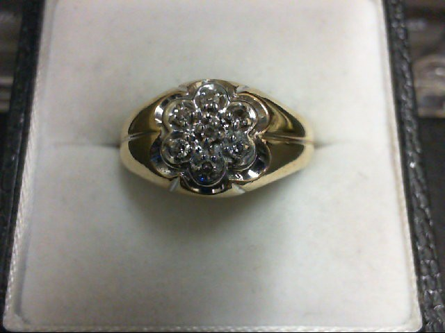 Gent's Gold Ring 10K Yellow Gold 3.2g