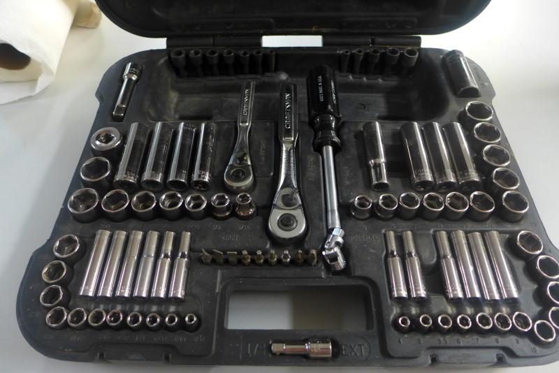 CRAFTSMAN Mixed Tool Box/Set 104 PIECE