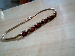 Gold Herringbone Bracelet 14K Yellow Gold 4.1g