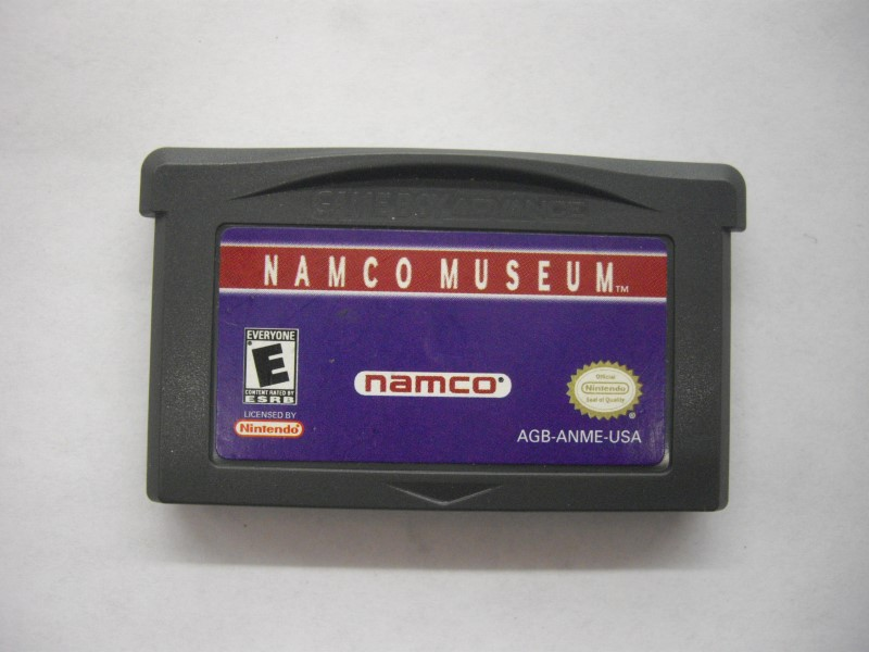 NINTENDO GBA Game NAMCO MUSEUM *CARTRIDGE ONLY*