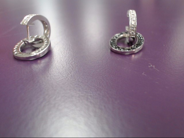 Gold Earrings 18K White Gold 6.23g