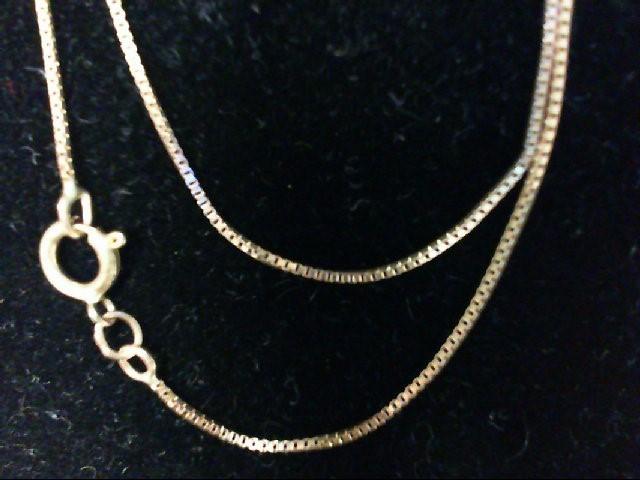 "25"" Gold Chain 10K Yellow Gold 1.5g"