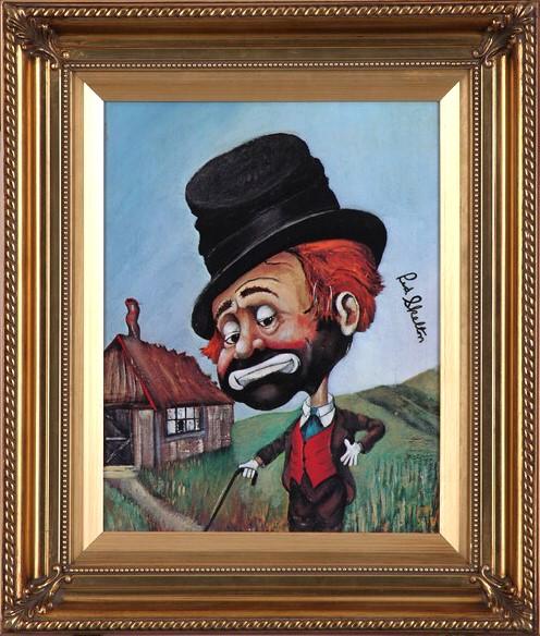 RED SKELTON Painting FREDDIE'S SHACK Print Framed #4160 of 5,000