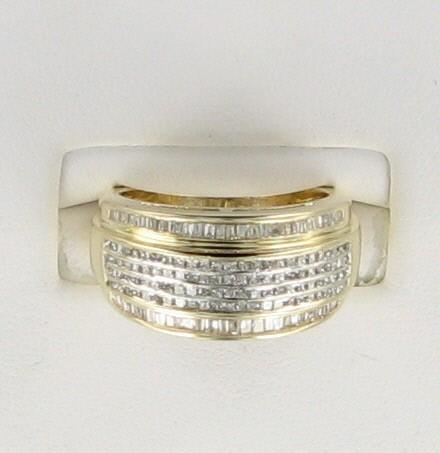 Lady's Diamond Fashion Ring 150 Diamonds 1.50 Carat T.W. 14K Yellow Gold 5.1dwt