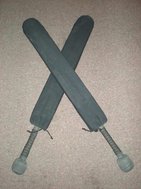 PAIR OF FULL CONTACT PRACTICE SWORDS
