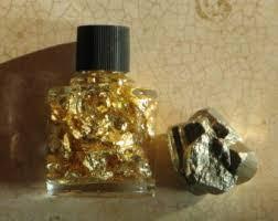 SEM-GOLD; FOOL'S GOLD IN SAMPLE BOTTLE