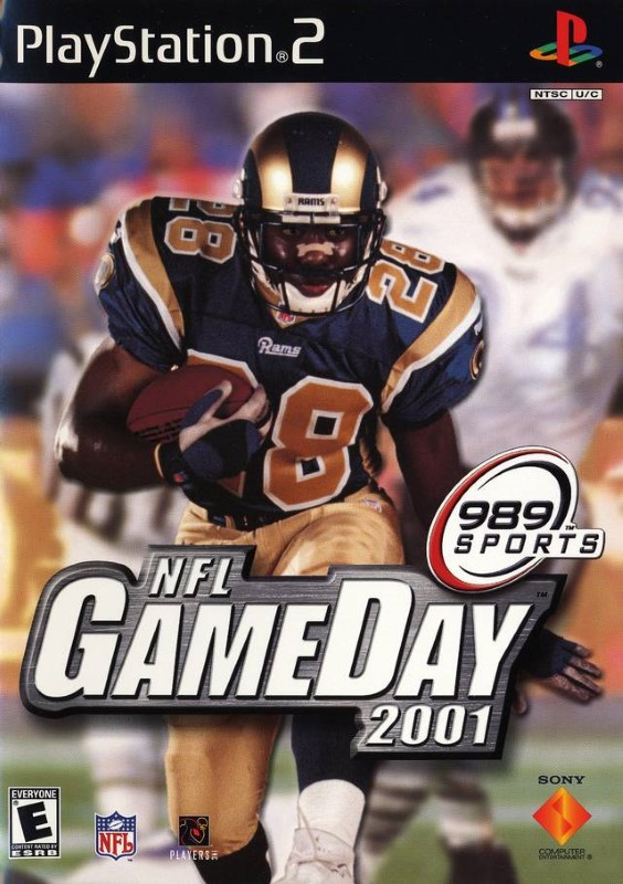 PS2 NFL GAME DAY 2001