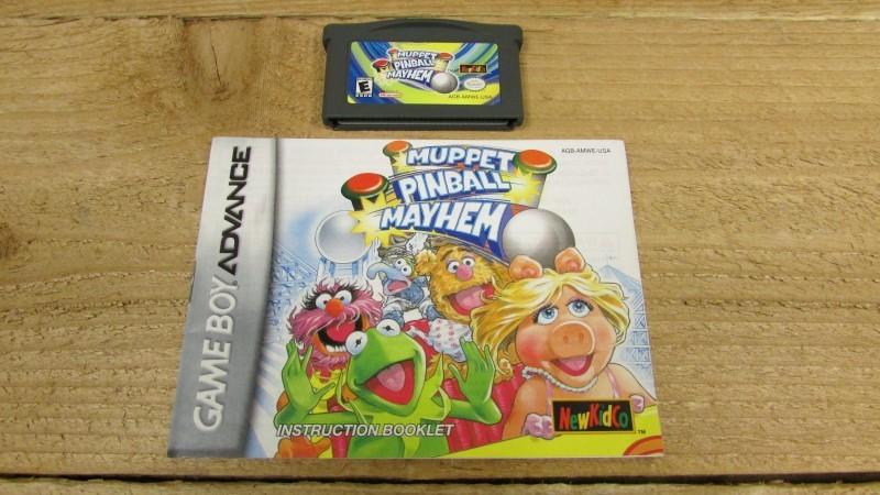 NINTENDO Nintendo GBA MUPPET PINBALL MAYHEM GBA