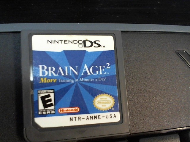 BRAIN AGE 2 FOR DS