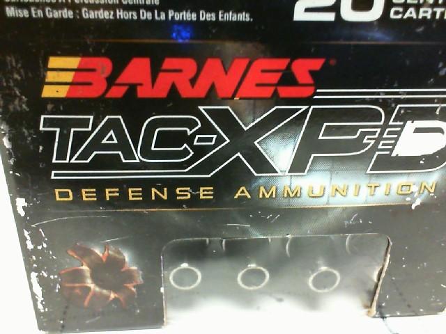 BARNES AMMO Ammunition TAC-XPD