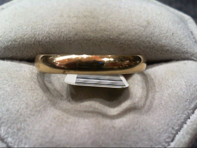 Gent's Gold Ring 14K Yellow Gold 3.3g Size:11
