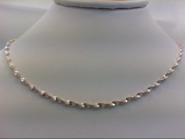 "18"" Silver Chain 925 Silver 4.2g"