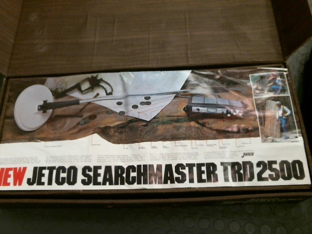 JETCO Metal Detector SEARCHMASTER TRD2500