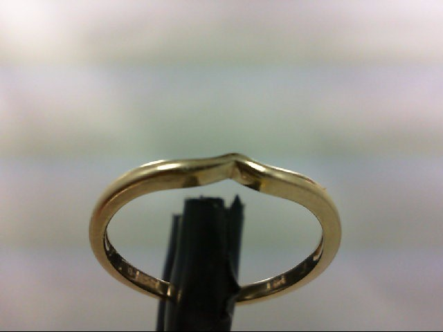 Lady's Gold Ring 14K Yellow Gold 1.5g Size:7