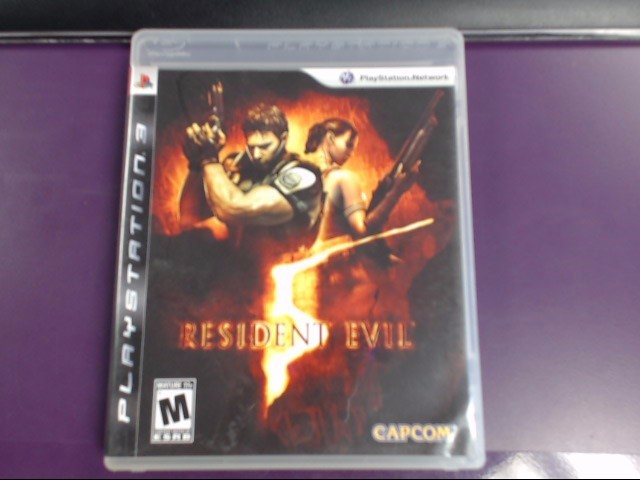 SONY PS3 RESIDENT EVIL 5 PLAYSTAION 3