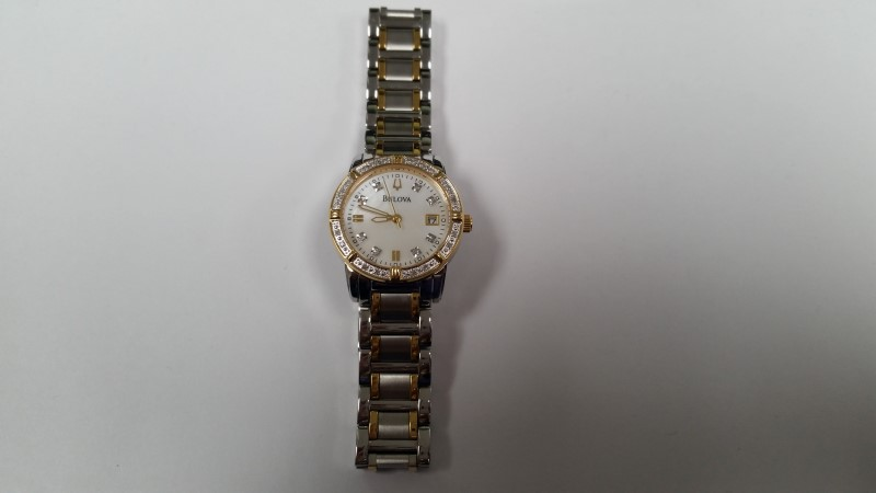 BULOVA LADY'S WRISTWATCH 98R107