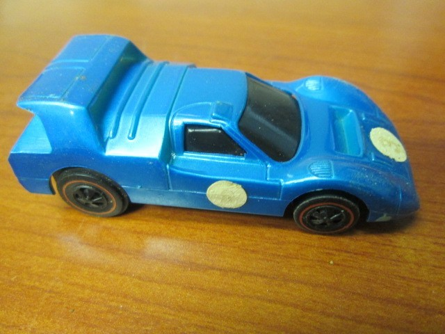 1969 HOT WHEELS REDLINE SIZZLER ANGELENO M-70 ELECTRIC BLUE #3