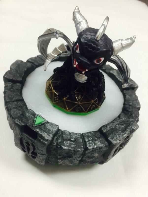 Nintendo DS Skylanders LOT Ninja Stealth Elf/Igniter/Dark Mega Ram Spyro& Portal