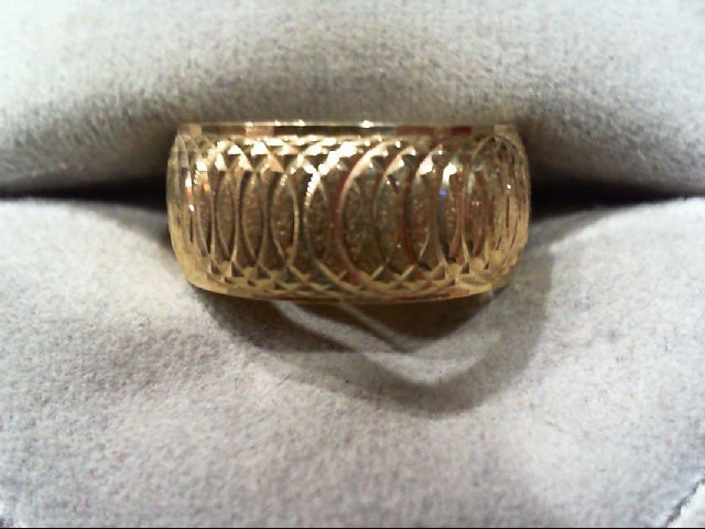 Lady's Gold Ring 14K Yellow Gold 6.8g