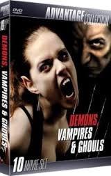 BCI DVD DEMONS, VAMPIRES & GHOULS