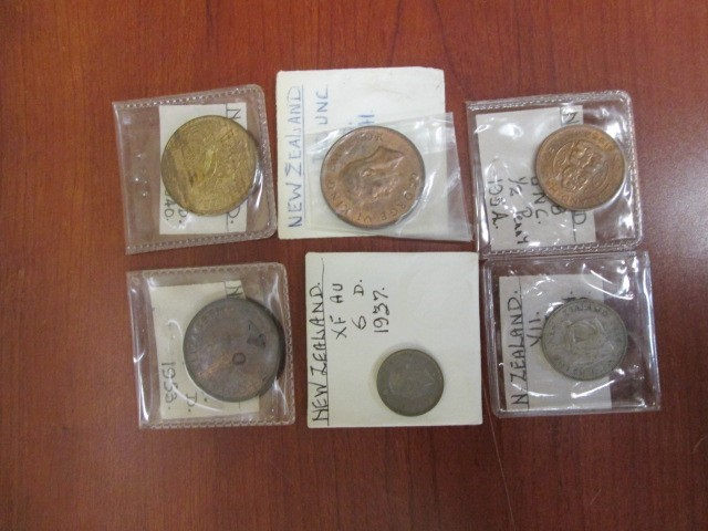NEW ZEALAND COIN LOT