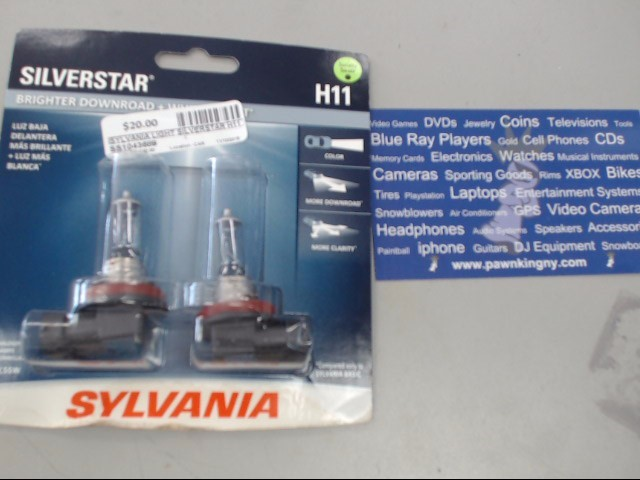 SYLVANIA Light SILVERSTAR H11