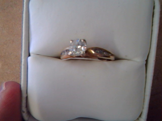 ENGAGEMENT RING JEWELRY , 14KT,