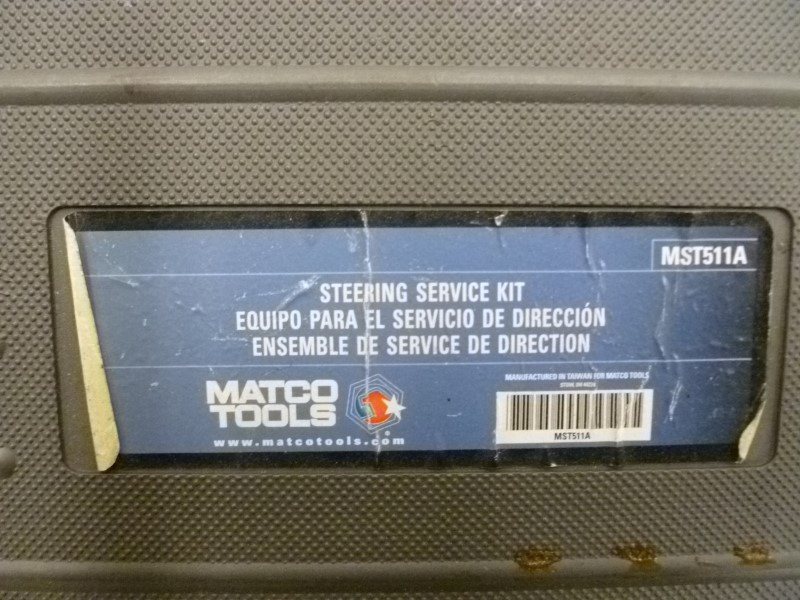 MATCO TOOLS MST511A STEERING KIT
