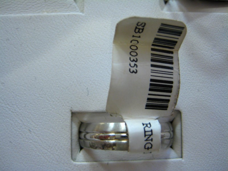 Gent's Platinum Ring 950 Platinum 6.4g