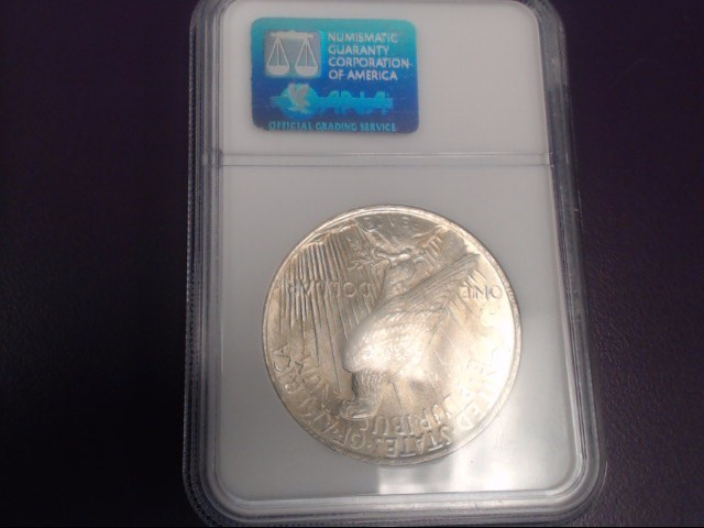 1922 Peace Dollar NGC Graded MS 63 *ENCAPSULATED*