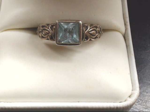 Lady's Silver Ring 925 Silver 4.5g Size:6
