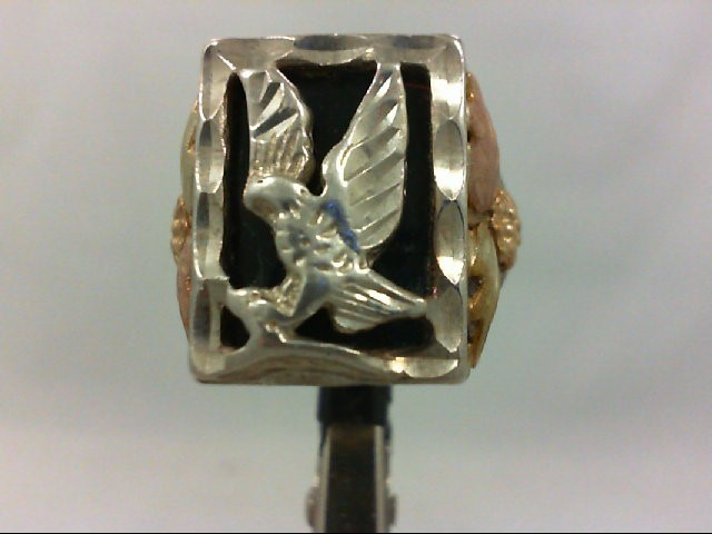 Gent's Silver Ring 925 Silver 10.7g Size:10