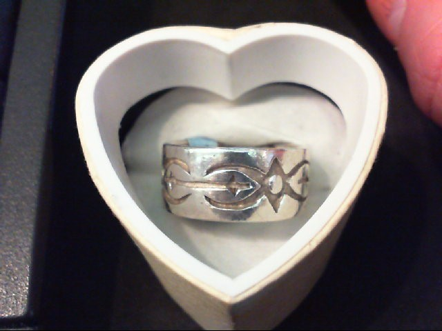 Gent's Silver Wedding Band 925 Silver 8.4g