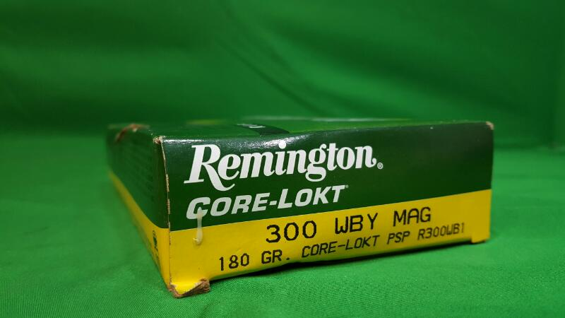 REMINGTON FIREARMS Ammunition EXPRESS CORE-LOKT