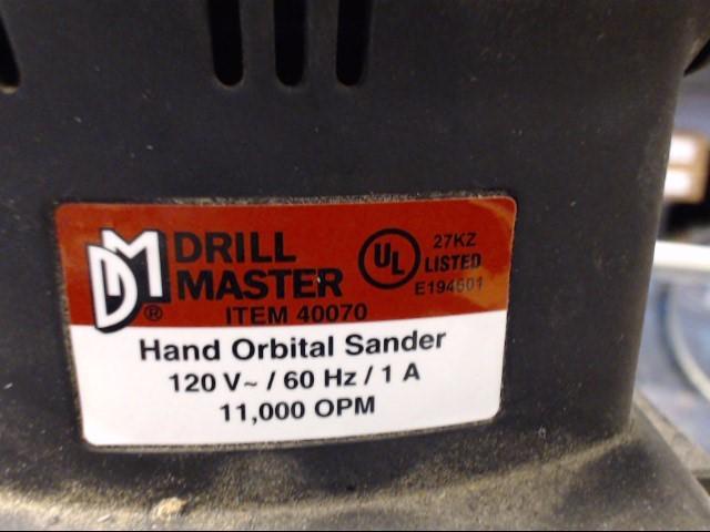 DRILL MASTER Vibration Sander 40070