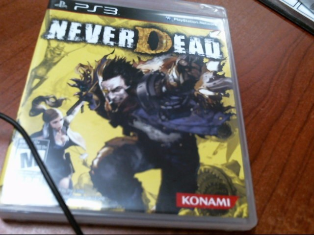 PS3 NEVER DEAD GAME