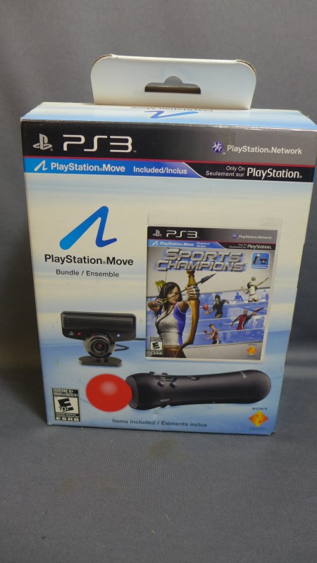 SONY Video Game Accessory 3 MOVE BUNDLE