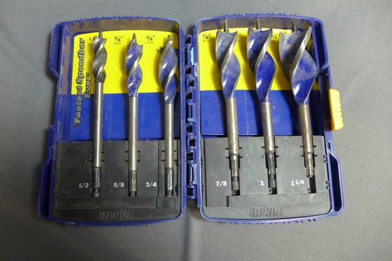 IRWIN TOOLS Drill Bits/Blades SPEEDBOR SET