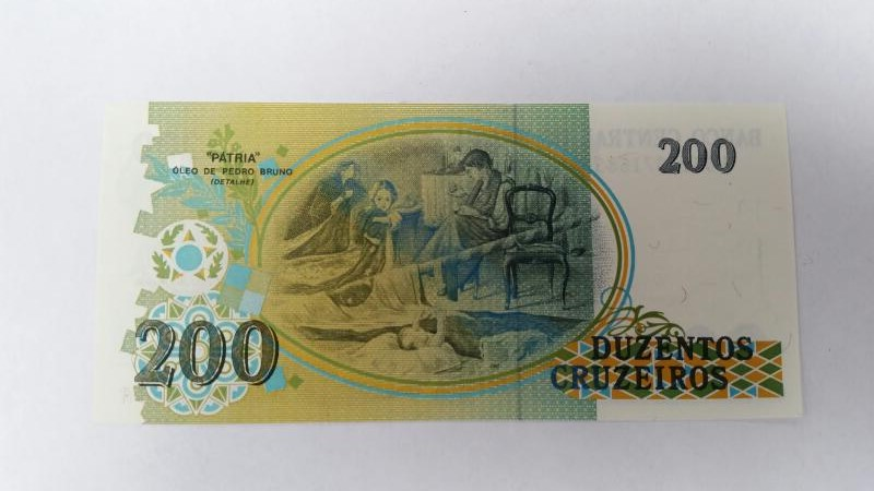 CENTRAL DO BRASIL Paper Money - World 200 DUZENTOS CRUZEIROS