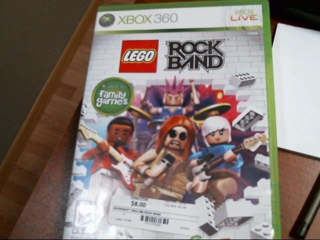 MICROSOFT Microsoft XBOX 360 LEGO ROCK BAND