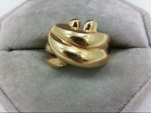 Lady's Gold Ring 14K Yellow Gold 6.7g Size:5.5